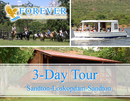 3 Day Tour: From Sandton to Loskopdam
