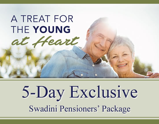 Swadini 5 Day Exclusive Pensioners Package